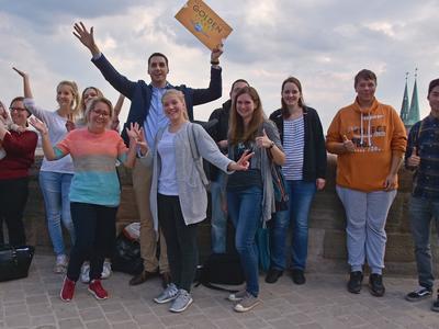 Die Gewinner auf der Kaiserburg