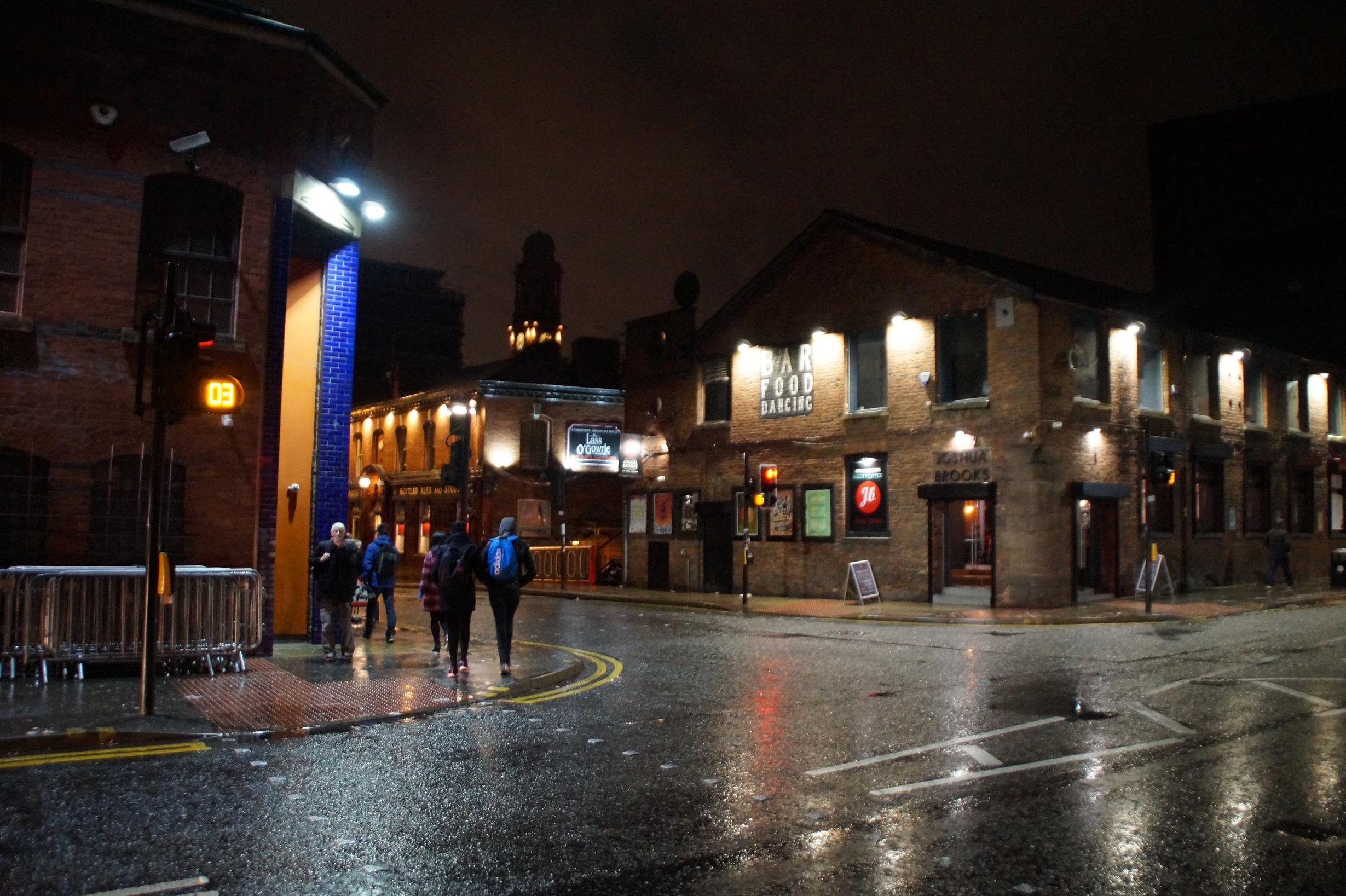 Ein für Manchester typisches Viertel