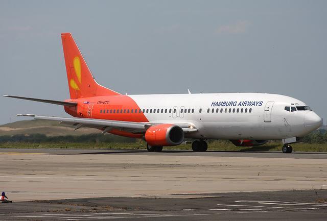 Boing 737-400 von   Hamburg Airways