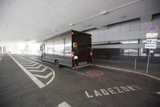 Ladezone des   Dortmund Airport