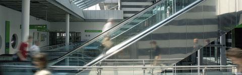 Orientierung und Service am Dortmund Airport