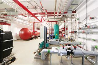 Grauwasseranlage zur Nutzung von Regenwasser für Sprinkleranlage und Toiletten-Spülung