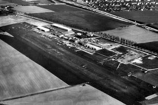 Dortmund Airport   von oben im Jahr 1969
