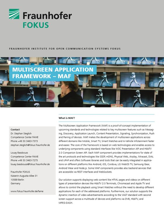 fraunhofer fokus fame multiscreen application framework cover produktblatt