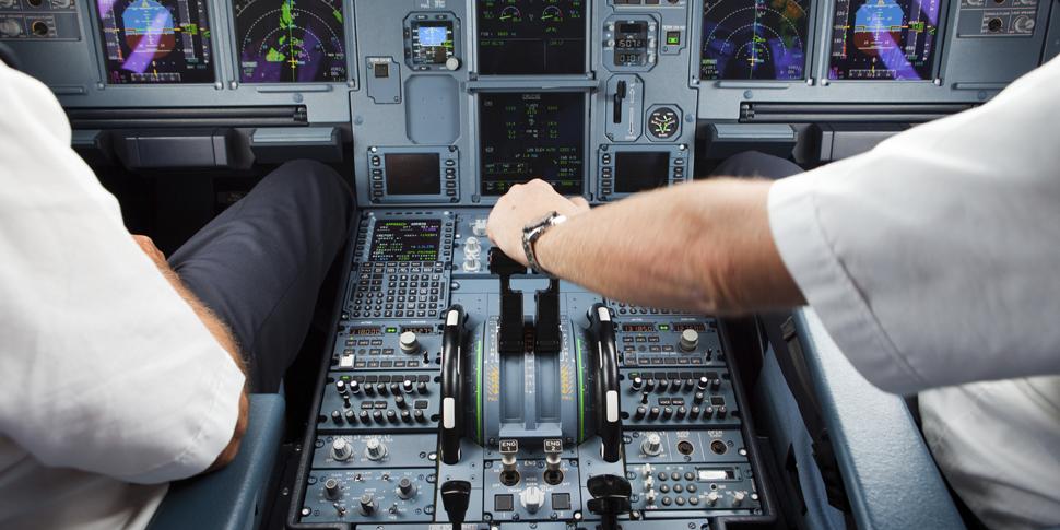 SQC Cockpit Flugzeug