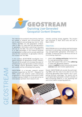 Flyer GEOSTREAM