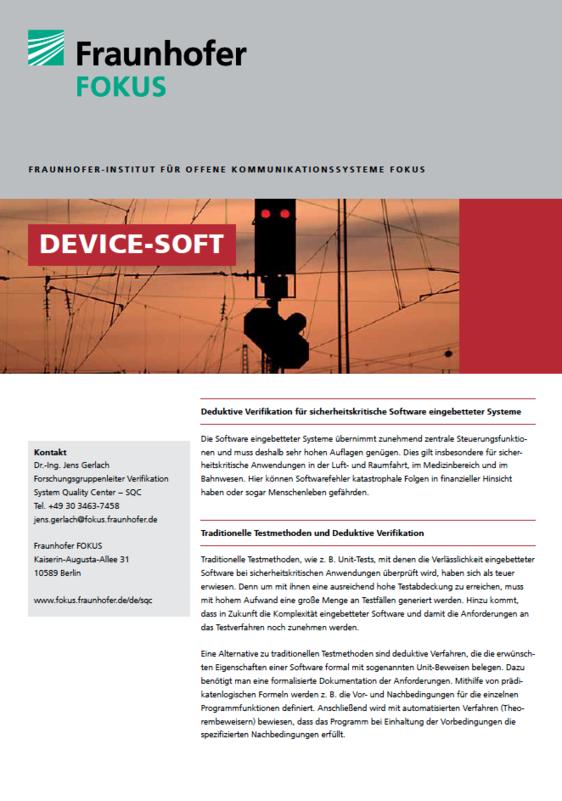 Screenshot Projektblatt DEVICE-SOFT