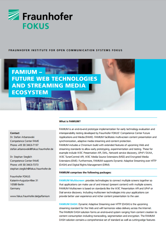 Future Web Technologies And Streaming Media Ecosystem