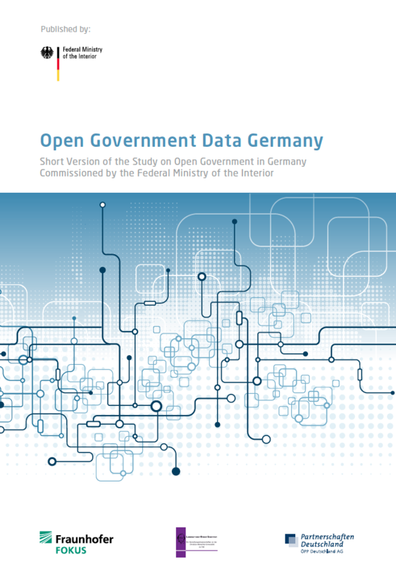 Screenshot Open Government Data Germany