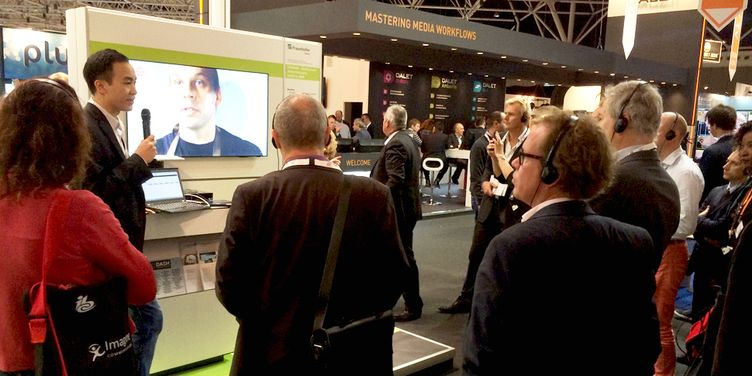 Fraunhofer FOKUS at IBC