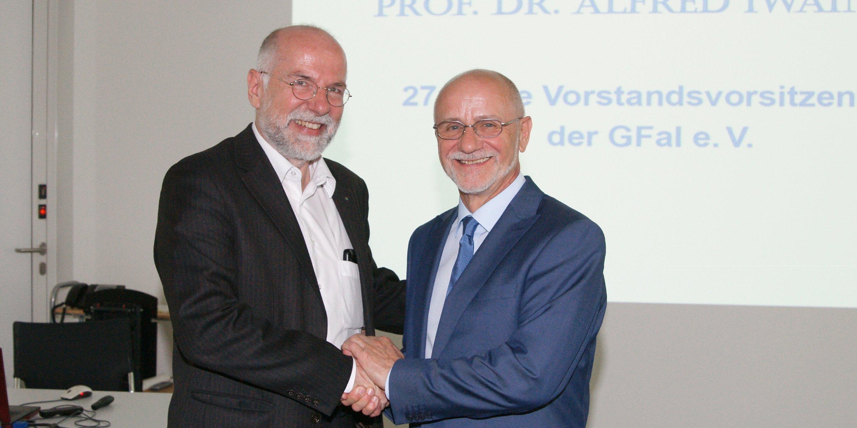 Holger Schlingloff undAlfred Iwainsky