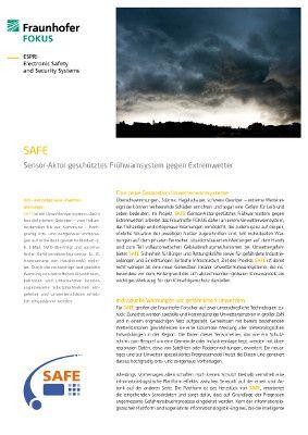 Produktblatt SAFE