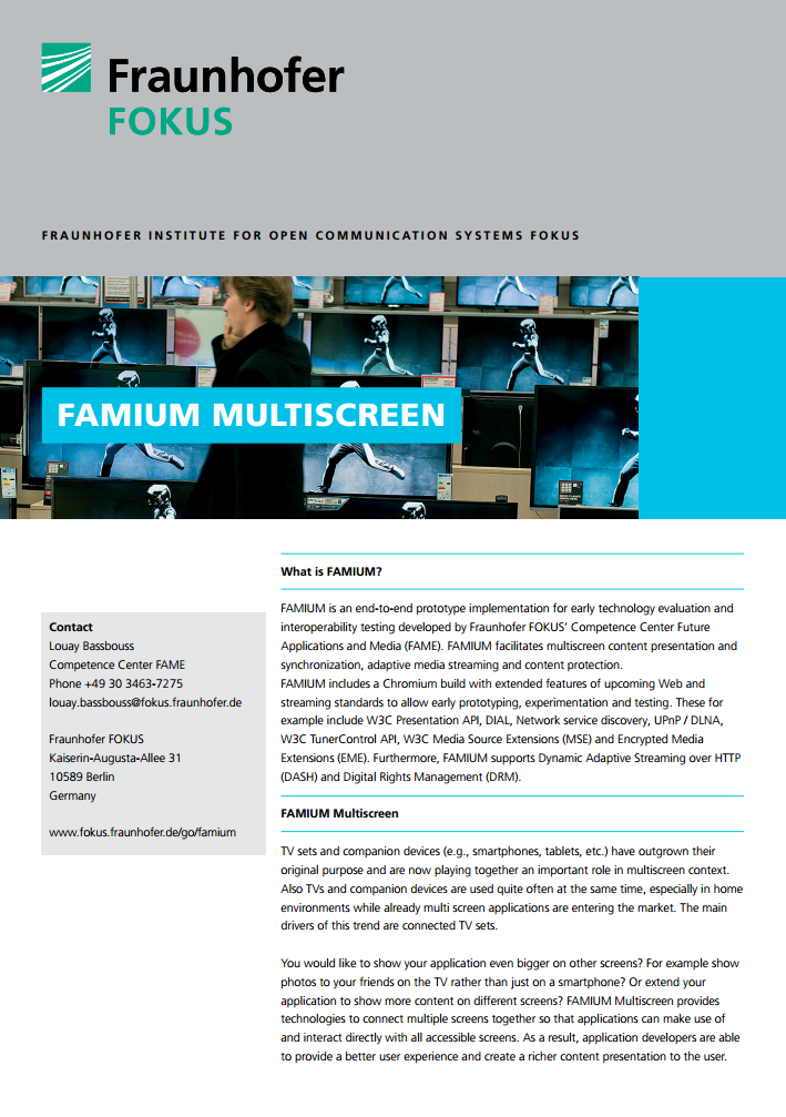 FAMIUM Multiscreen