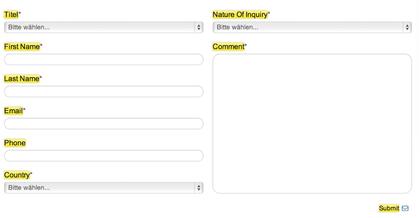 mehrsprachigkeit im formular