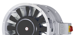 Axial fans with direct drive and outlet guide vanes AXN 12/56