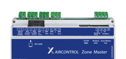 Zone master module for up to 25zone modules, with integral webserver and interfaces to higher-level systems
