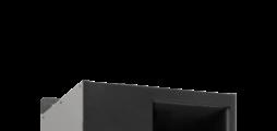 Zu- und Abluftgerät mit Umschaltmöglichkeit auf Sekundärluftbetrieb, inklusive Wärmerückgewinner und Wärmeübertrager zum vertikalen Einbau vor der Brüstung