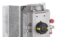 Pneumatic actuators for the opening and closing of dampers in air conditioning systems
