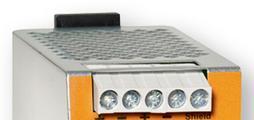 Master, sensörler, servomotorlar ve modüller için AS-i sistem voltajı